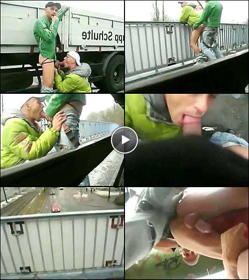 gay cumshots video