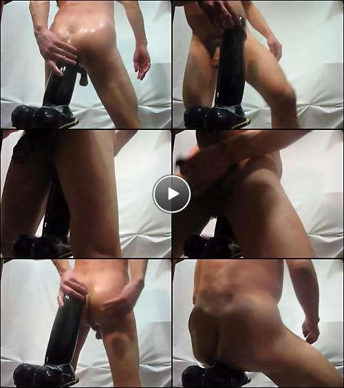huge dildo for ass video